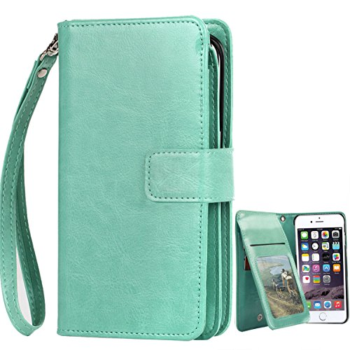 iPhone BENTOBEN Magnetic Leather Wristlet