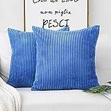 HOME BRILLIANT Easter Decor Throw Pillow Cover Decorative Soft Velvet...