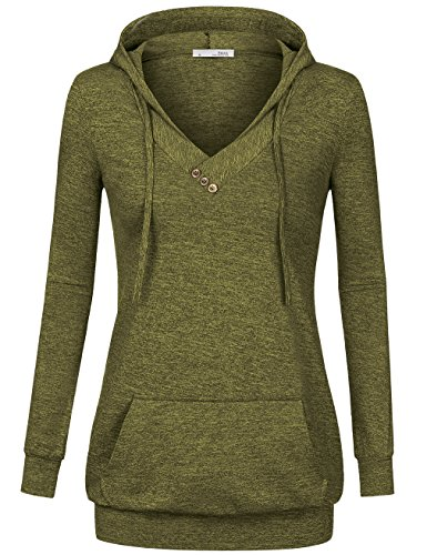 Green Hooded Top - 2