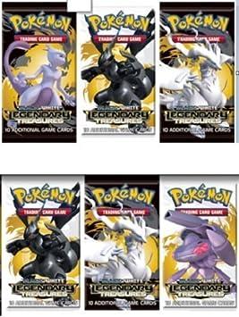 6 SEALED BOOSTER PACKS - Pokemon TCG Trading Card Game Black & White BW Serie...: Amazon.es: Juguetes y juegos