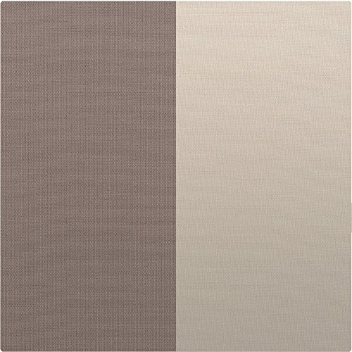 Ultra-Soft Premium 1800 Goose Down Alternative Reversible Comforter - Hypoallergenic - All Season - Plush Fiberfill, Twin Extra Long (Twin XL, Taupe/Sand)