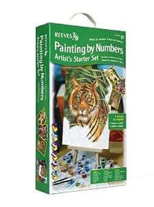 Reeves - Set artista para principiantes de pintar por números, avanzado