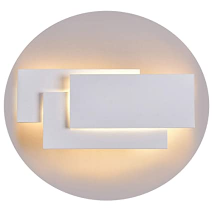 Ralbay 12W LED Wall Sconces Lighting Interior Wall Lamp Contemporary Wall Mounted Lamp With Aluminum Shell