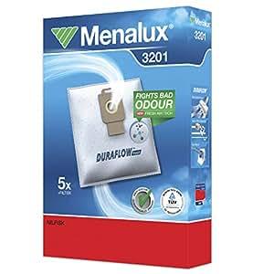 Menalux 3201 Bolsas para aspiradores Nilfisk