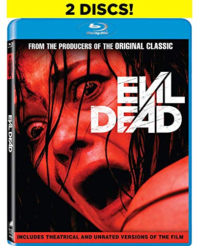 New 2013 Collection - Evil Dead: Unrated [Blu-ray]