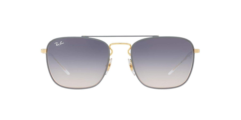 5b5db2164e9da Amazon.com  Ray-Ban RB3588 Square Unisex Sunglasses 9063I9 - 55mm  Clothing