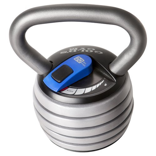 Gold's Gym Extreme 20 lb Adjustable Kettle Bell
