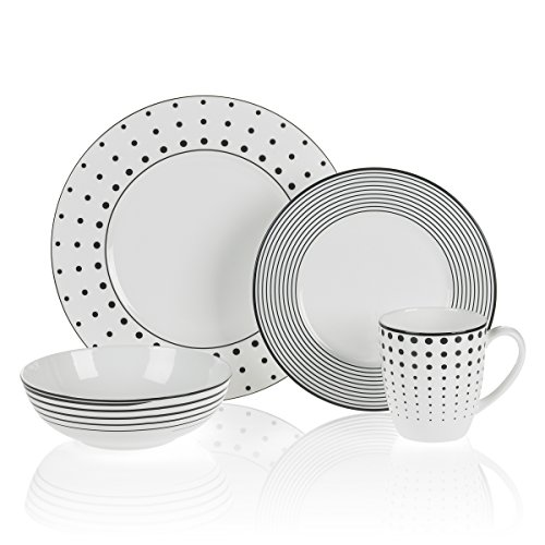 (Mikasa Cheers 4-Piece Place Setting, Service for 1)