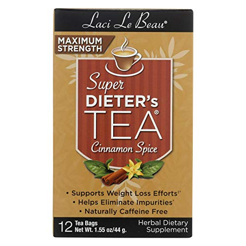 - Super Dieters Tea-Max Cinnamon Spice Laci Le Beau 12 Bag