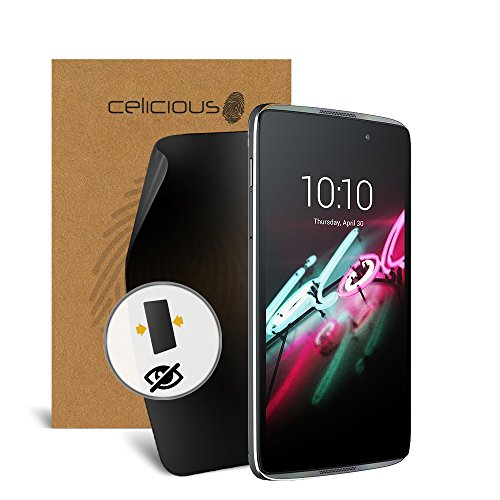 Celicious Privacy Alcatel Onetouch IDOL 3 (4.7) 2-Way Visual Black Out Screen Protector