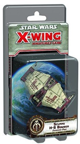 Star Wars X-Wing: Scurrg H-6 Bomber Expansion (Pack Bomber)