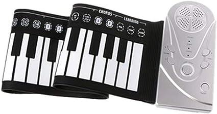 49 teclas piano flexible portable digital rollo teclado ...