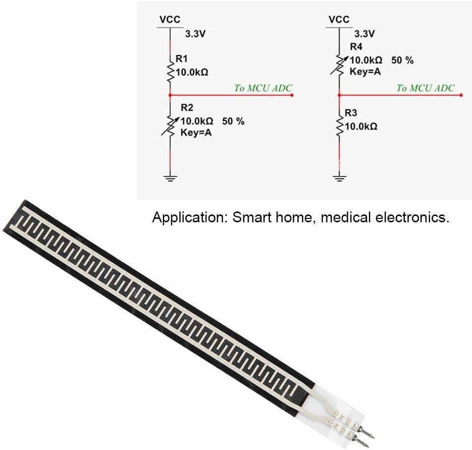 ZD10-100 500g Flexible Ultra-Thin Waterproof Nanometer FSR Force Sensing Resistor Industrial Components Pressure Sensitive Resistor