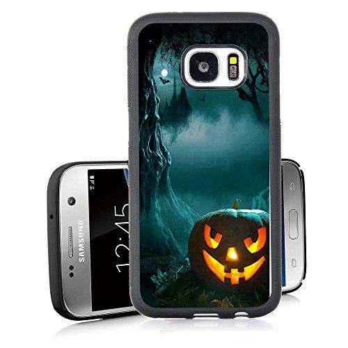 Black Cat Pumpkins - Galaxy S7 Case Personalized Design Samsung Galaxy S7 TPU Black Cell Phone Case New Halloween pumpkins