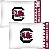 NCAA South Carolina Gamecocks Football 2-Pack Pillowcases
