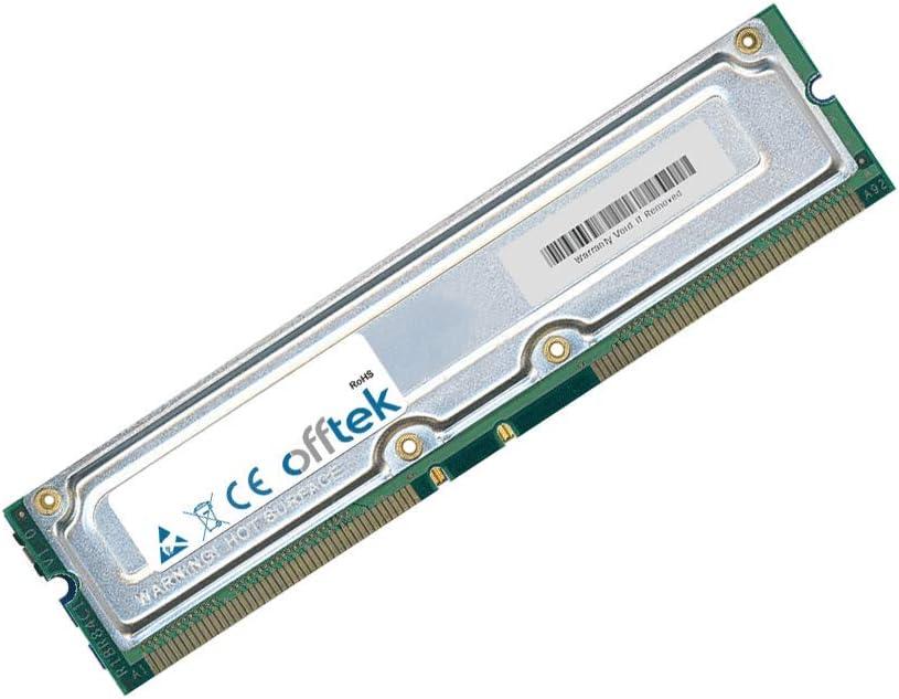 OFFTEK 512MB Kit (2x256MB Modules) Replacement RAM Memory for Dell Dimension 8100 (PC800 - Non-ECC) Desktop Memory
