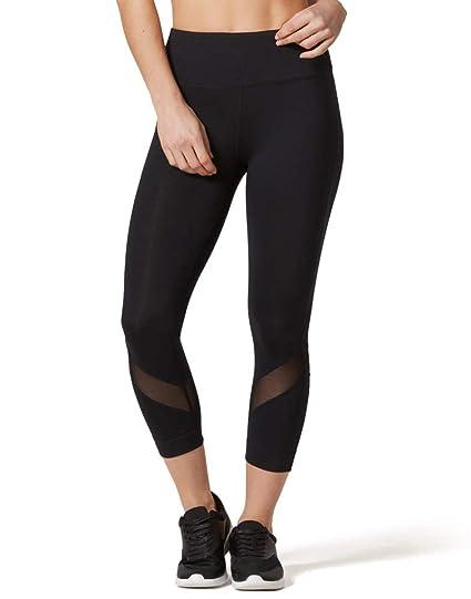 ae830e2ed37a65 Amazon.com : VUTRU Workout Leggings Yoga Capris Mesh Tights Gym Fitness  Pants Leggings for Women : Clothing