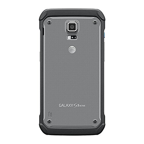 Samsung Galaxy S5 Active G870a 16GB Unlocked GSM Extremely Durable Smartphone w/16MP Camera - Titanium Gray