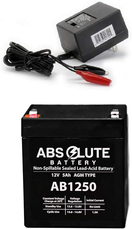 New 12V 5AH Replacement Battery APC Dell Smart-UPS 2200 DLA2200RMI2U /& Charger