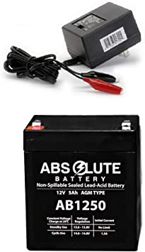 IZIP I-135 12V 5Ah Electric Scooter Replacement Battery Set