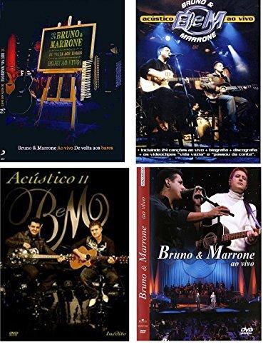 Super Combo: Bruno e Marrone, De Volta Aos Bares + Acústico 2 + Ao Vivo + Acústico ao vivo (Bruno & Marrone De Volta Aos Bares)