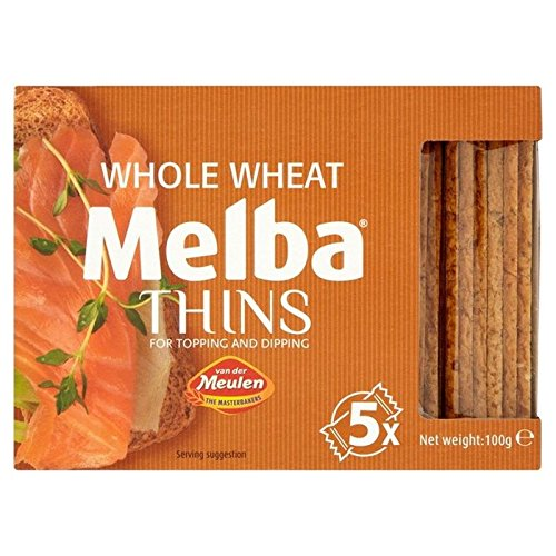 Whole Wheat Melba Thins 100g (Pack of 4)