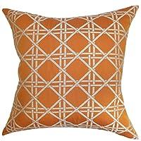 "The Pillow Collection QUEEN-D-71038-ROSEWOOD-C10-C1000 Rosewood Daniele Diamonds Bedding Sham, Queen/20"" x 30"""
