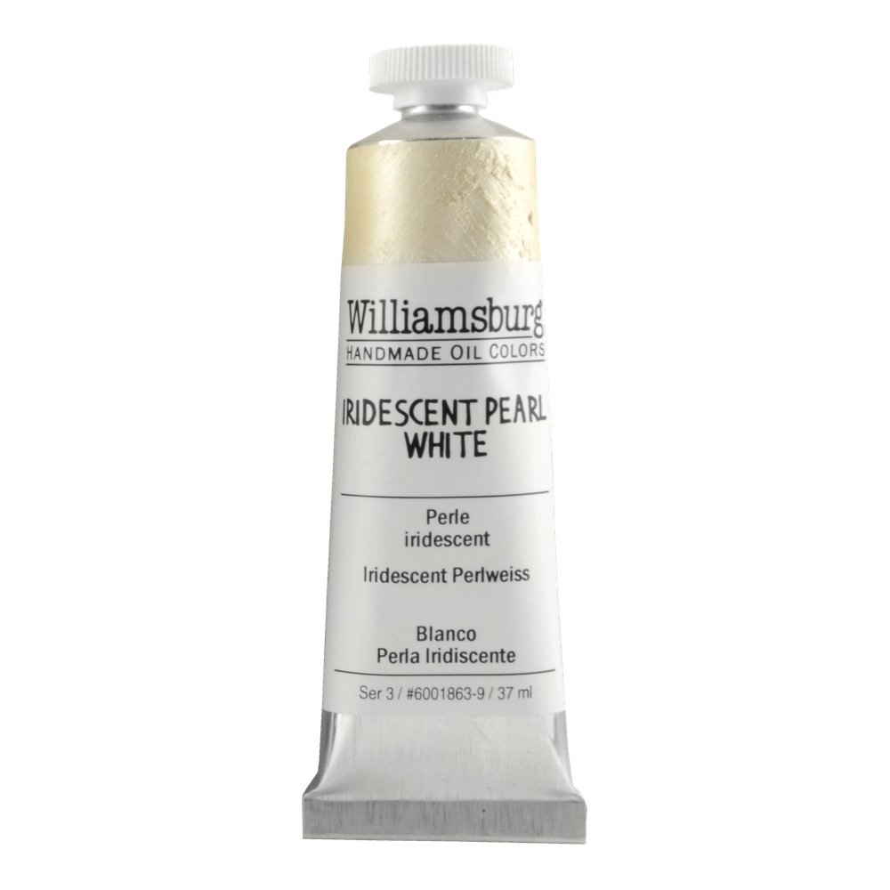 Amazon williamsburg handmade oil paint 37ml iridescent pearl amazon williamsburg handmade oil paint 37ml iridescent pearl white nvjuhfo Image collections