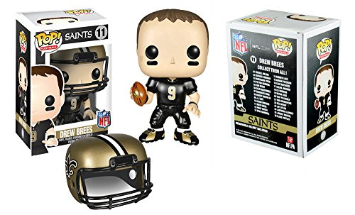 Funko Pop! Sports New Orleans Saints Drew Brees #11 Officially Licensed In-Box NFL Action Figure