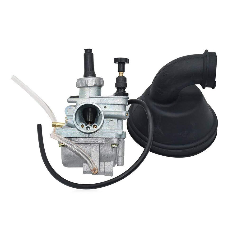 Intake Manifold & Carb Carburetor Replacement for SUZUKI LT80 LT 80 QUADSPORT ATV 87-06 E4 Motorbike Accessories Republe