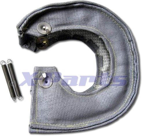 Turbo Heat Shield Garrett KKK Turbo Grey Ceramic 1200°C Pampers: