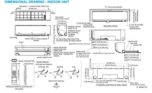 Daikin 18 000 Btu 220v 18 Seer Mini Split Inverter Air