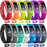SKYLET Compatible with Garmin Vivofit 2 Bands, Soft Silicone Replacement Bands for Vivofit 2 Wristband Bracelet with Buckle Small Large Kids Men Women (NOT for Garmin Vivofit 1, No Tracker)