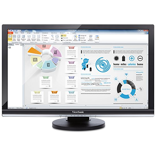 ViewSonic Thin Client SD-T245_BK_US0 24-Inch Screen LED-Lit Monitor by ViewSonic