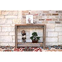 36 Natural Console Table