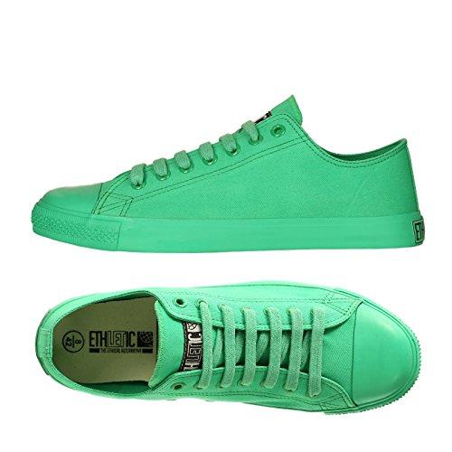 Monochrome Chaussure Ethletic Vegan Collection Locut 17 - Couleur Vert Actif