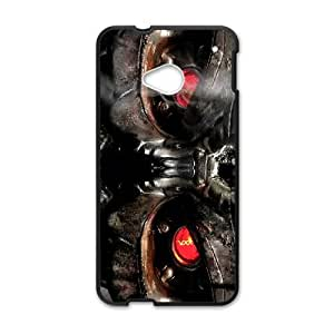 HTC One M7 Cell Phone Case Black Terminator Phone Case Cover Personalized Plastic XPDSUNTR05886