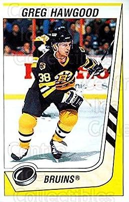 4fa1117ac30 (CI) Greg Hawgood Hockey Card 1989-90 Panini Stickers 189 Greg Hawgood