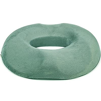 BestMedical Donut Ring Medical Seat Cushion w/ Contour for the Legs and Tailbone. Best for Hemorrhoid, Sciatica, Coccyx & Tailbone Pain, Childbirth, Prostatits, Pilonidal Cyst, Perineal Pain Treatment