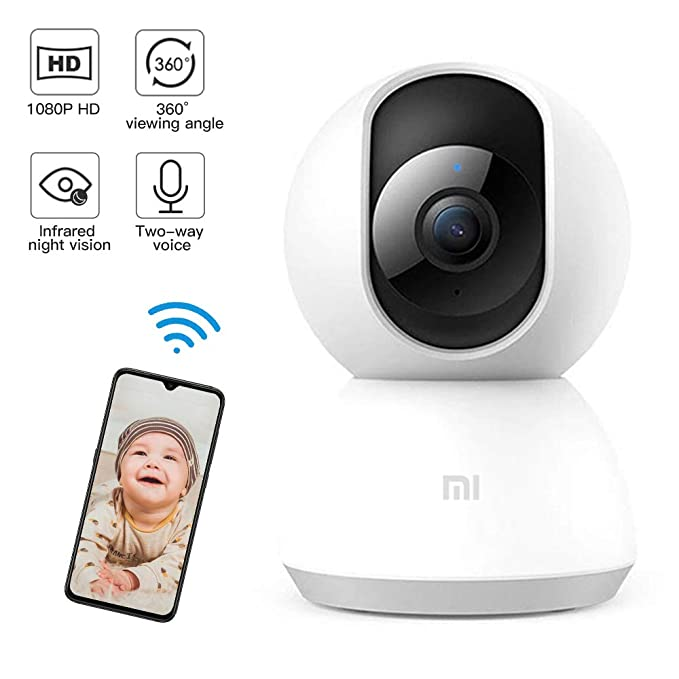 Home Security IP Camera System 1080p HD Wireless Security Surveillance Camera with Auto-Cruise, Motion Tracker, Activity Alert, Night Vision, iOS, Android App - Cloud Service Available White. best home security IP camera
