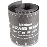 """Flange Wizard WW-17 Wizard Wraps, 3 7/8"""" x 60"""", Heat Resistant, Medium"""