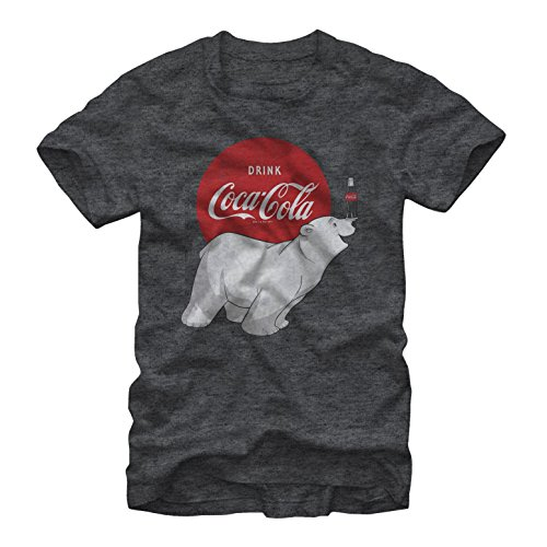 Fifth Sun Coca Cola Polar Bear Mens Graphic T Shirt