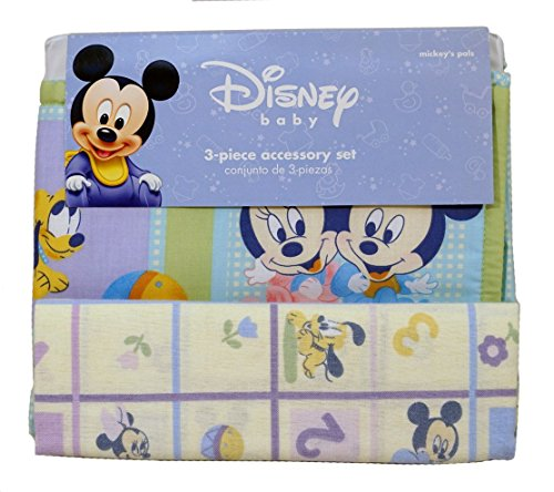 Frog 3 Piece Crib - Disney Baby Mickey's Pals 3 Piece Accessory Set