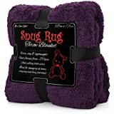Purple - Snug Rug Special Edition Luxury Sherpa Fleece Snug Rug Throw Blanket - New & Exclusive Colour