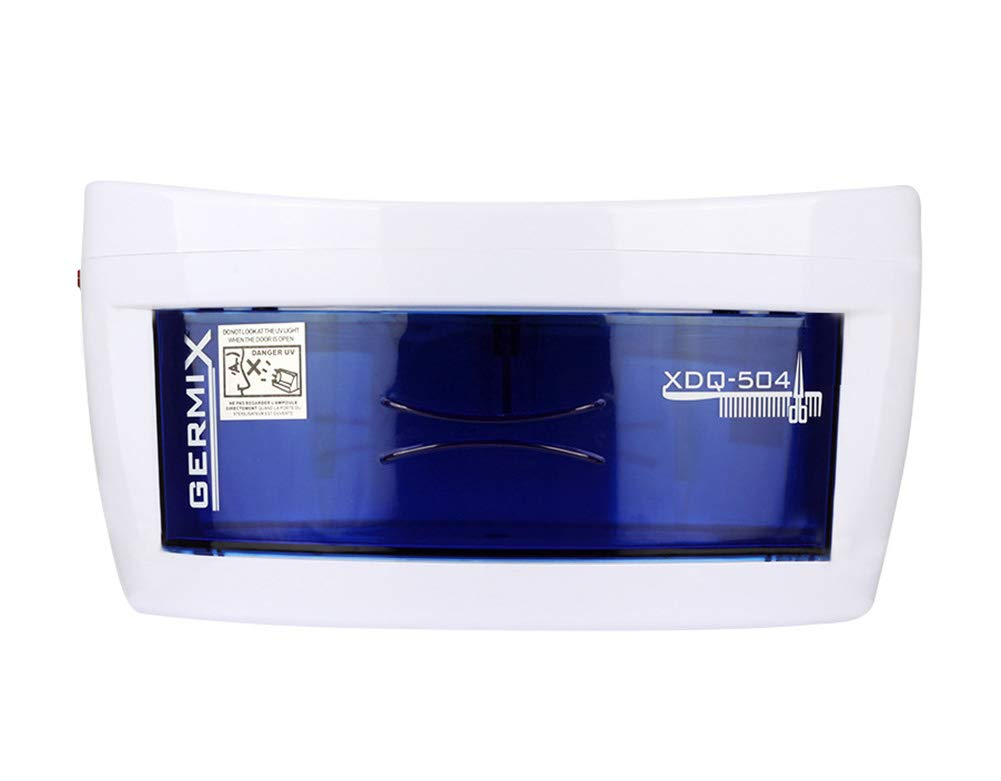 UV Mini Sterilisers Disinfection Box - Beauty Salon Tools UV Disinfector Sterilizer Cabinet,Suitable for Scissors, Baby Bottles, Toys, Towels and Many More