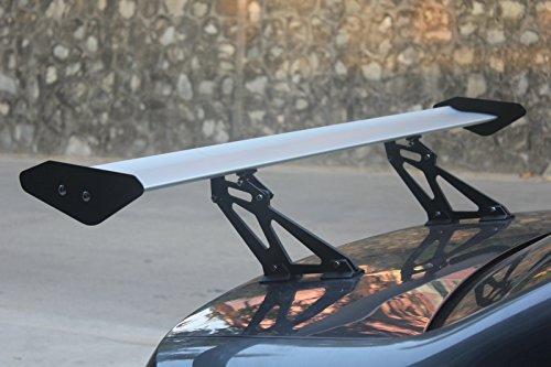 Artudatech GT Wing Spoiler 53.1inch Universal Lightweight丨Adjustable Angle丨Sedan Aluminum Single-Deck Rear Spoiler丨Black ()