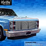 81 chevy truck grill - eGrille Stainless Steel Billet Grille Fit 81-87 Chevy C/K Pickup/Suburban/Blazer