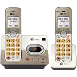 AT&T EL52213 2 Handset Cordless Answering System With Caller ID/Call Waiting, Silver