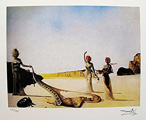 Salvador Dali Painting Artwork Stretched Canvas Giclee Print Surrealism