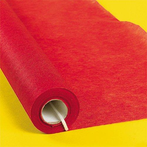 Fabric Oscar Party Movie Night RED Carpet Style Aisle Runner OTC 702857